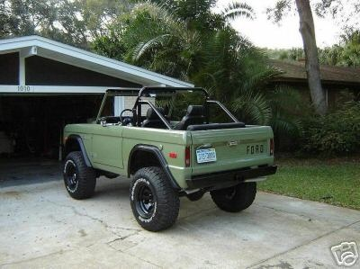 Green Bronco With Black Writing Cool Dream Truck Clic Ford Broncos Old