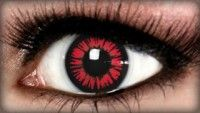 Site to buy colored contacts for Halloween(around $30). They also have tutorials on makeup.