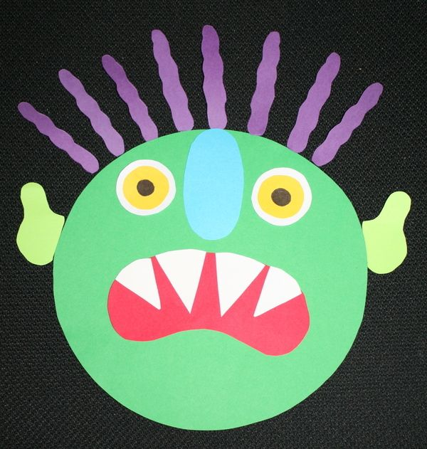 FREE 40 page-download packet. A nice variety of great activities for a monster theme day or as extensions after reading Go Away Big Green Monster or Sad Monster Glad Monster.