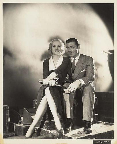 Carole Lombard & Clark Gable