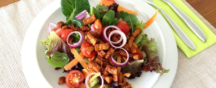 Salade met gemarineerde tofu, Fase 1