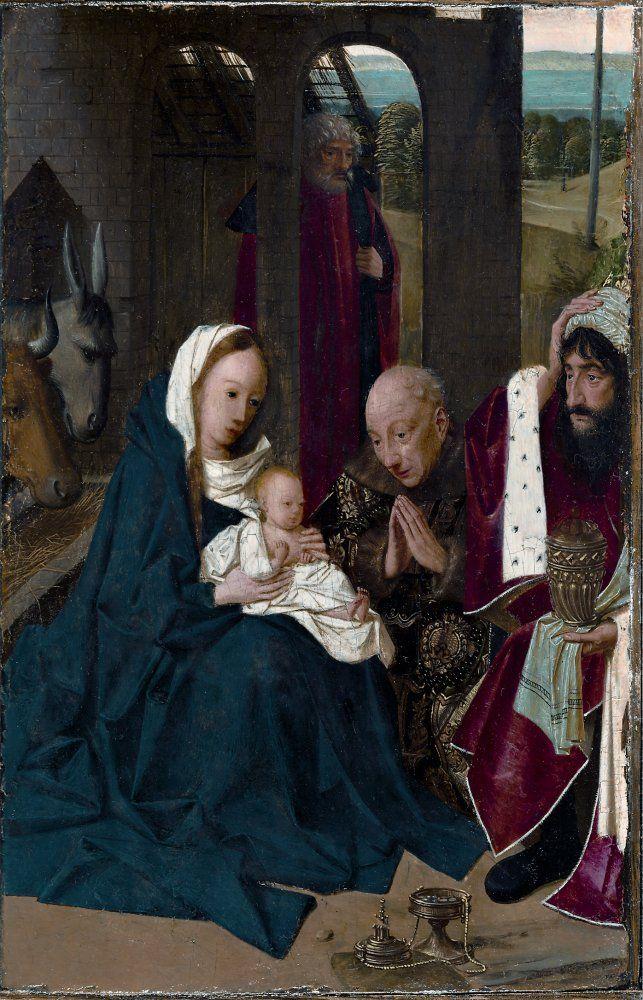 Geertgen tot Sint Jans (1460/1465 – до 1495) Поклонение волхвов.Из Кливлендского музея
