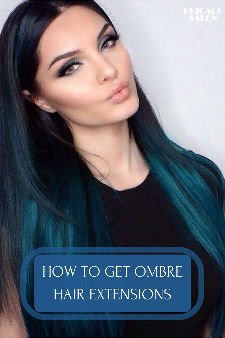 Ombre extensions are a popular and beautiful trend. Learn how to get ombre  hair extensions .... #hair #hairtips #hairextensions #beauty #hairstyle #chicagohairextensionssalon