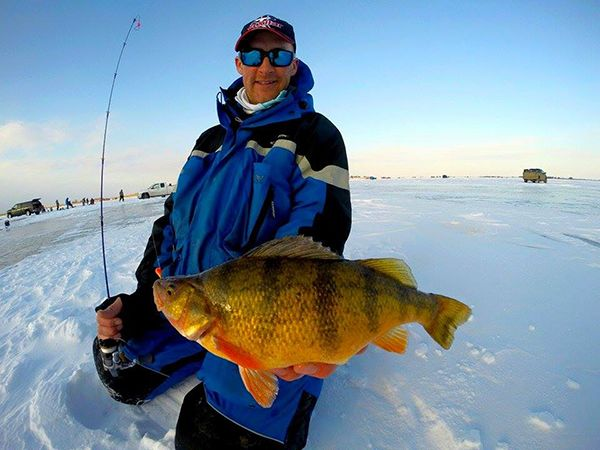 Devils lake north dakota is considered one of the world s for North dakota ice fishing