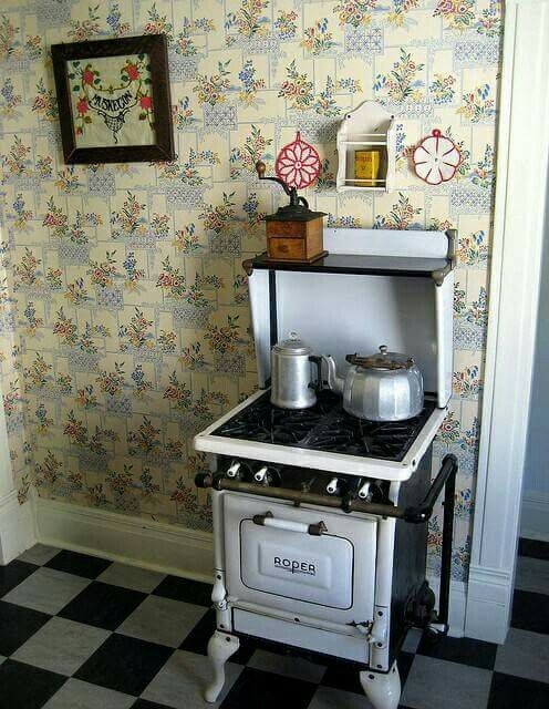 Little Roper Stove,like The One I Have Here In The House,puts Out The Btuu0027s.