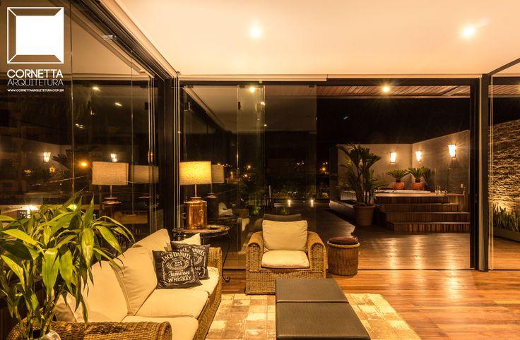 Projeto e execução de loft em estrutura metálica. #cornetta #arquitetura #lofts #estruturasmetalicas