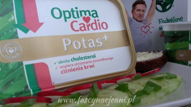 OPTIMA CARDIO POTAS + – margaryna zdrowsza niż inne | Fascynacje Ani