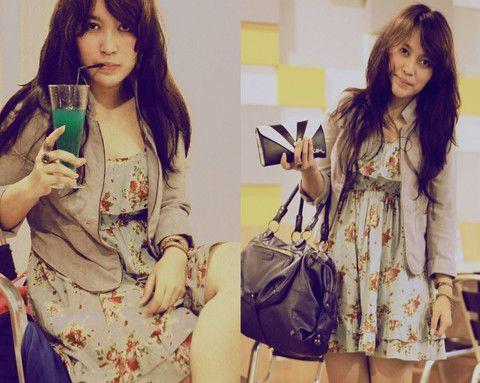 Volcom Purse, Misyelle Leather Bags, Lr Floral Dress, Lr Blazer