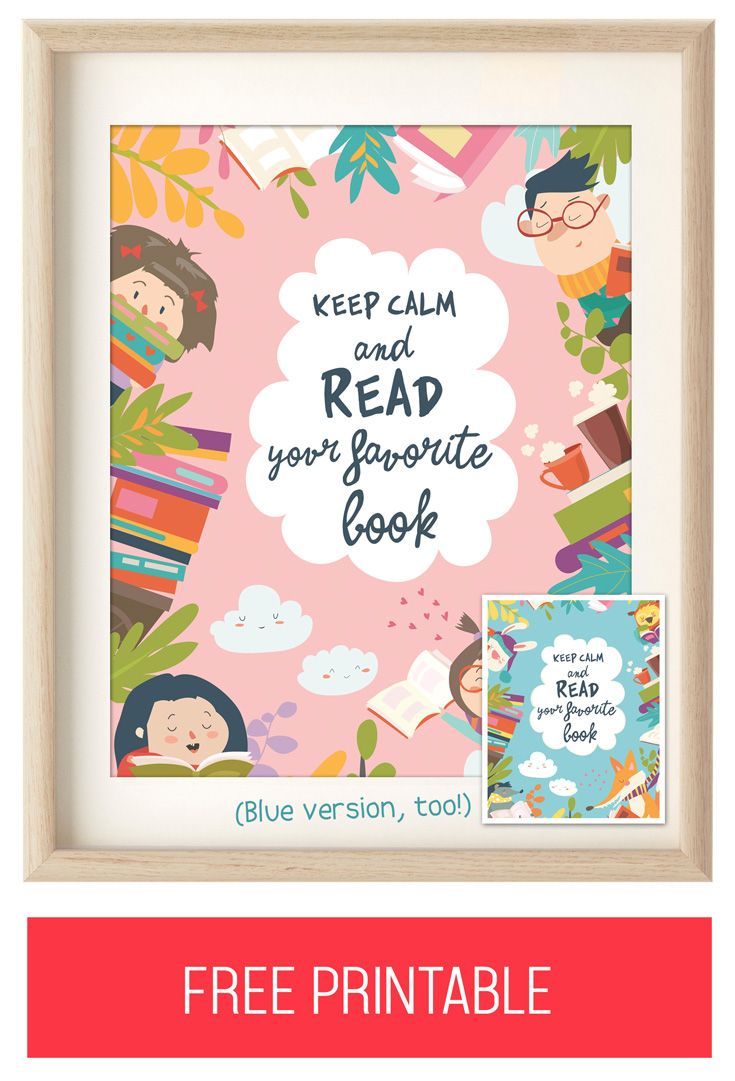 - FREE Reading Printables For Kids Rooms! Or Your Children's Nursery