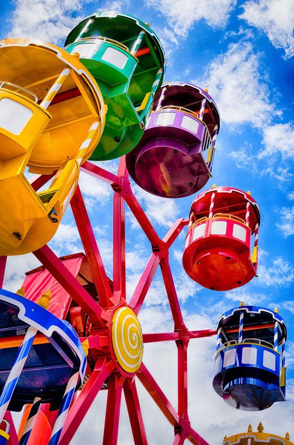 "chasingrainbowsforever:  ""Amusement Park by Frank Koehntopp  ""  K"