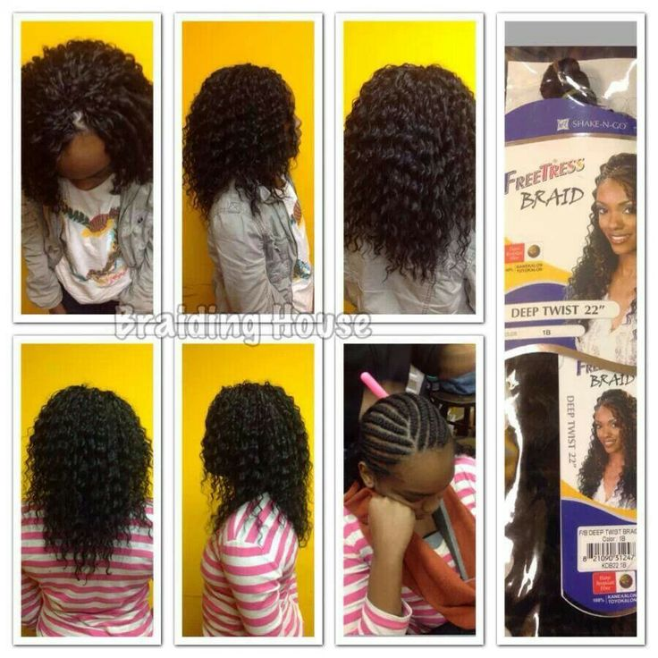 Crochet Braids Freetress : Crochet Braids - Freetress Deep Twist. These are gorgeous!!!!!: Black ...