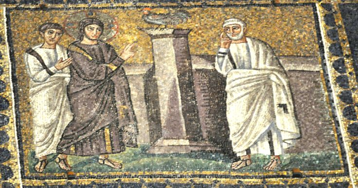 Jesus Predicts Peter's Denial Church of Sant'Apollinare Nuovo, Ravenna