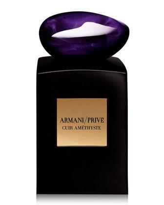 Prive Cuir Amethyste Eau De Parfum by Giorgio Armani at Neiman Marcus.