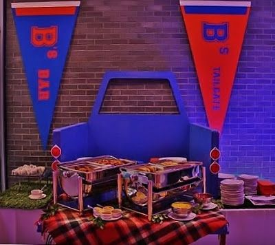 Faux Back Drop Tail Gate Set The Scene Tailgate