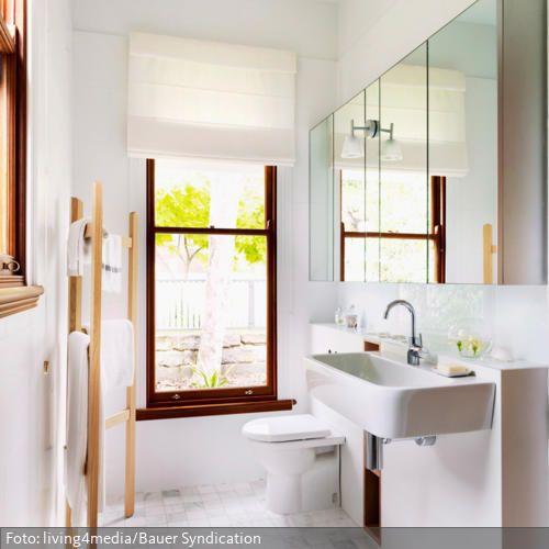 Handtuchhalter Badezimmer Holz