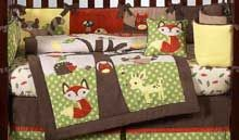 Forest Animals Baby Crib Bedding - Forest Nursery Decor   I LOVE ALL the forrest stuff here!!!