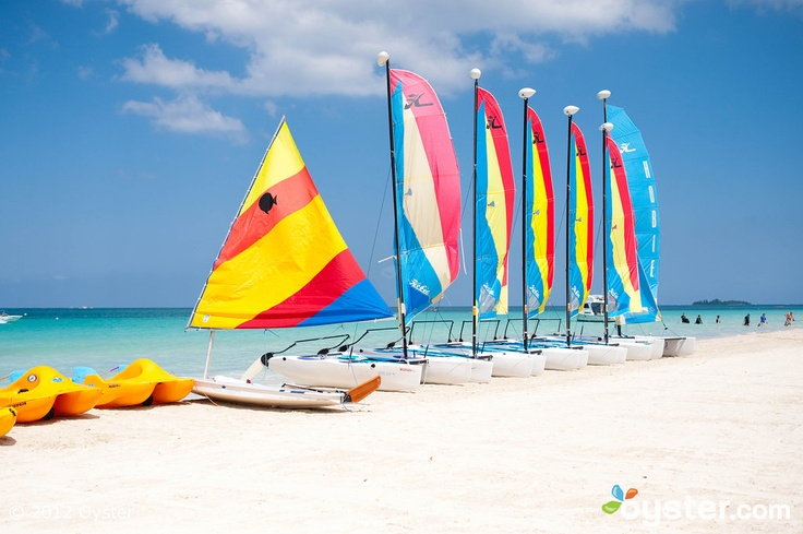 Beach at Couples Swept Away Negril - How can you go wrong?!!