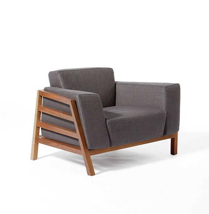 Michele De Lucchi's feeling for design: Paddock armchair, Paolo Castelli, 2011