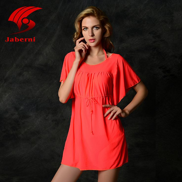 New Soild Cover-up Beach Dress Women Sexy Kaftan Chiffon Bikini Swimwear Tunic Swimsuit Bathing Suit Cover Ups Pareo travel quotes * AliExpress Affiliate's Pin. Find similar products by clicking the image
