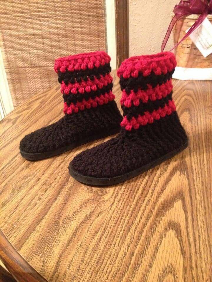 258 besten crochet boots Bilder auf Pinterest | Hausschuhe ...