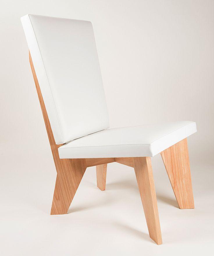 aXial Hi-back Lounge Chair by Pirollo Design