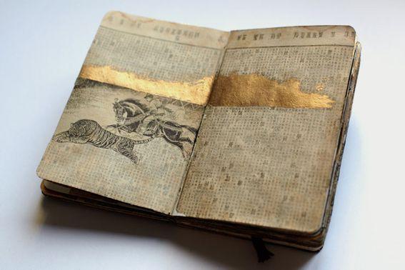 sketchbookBook Art, Chinese Moleskine, Art Journals, Sketchbooks, Journals Pages, Juan Rayos, Chine Moleskine, Sketches Book, Altered Book