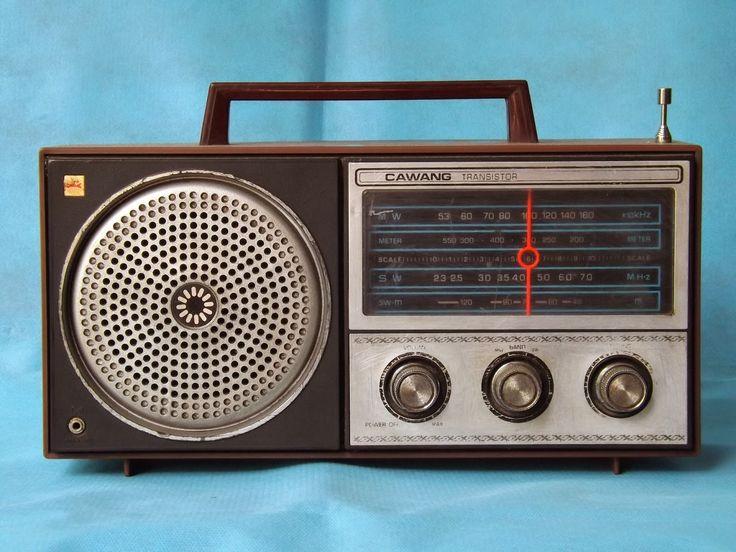 Radio Cawang Transistor