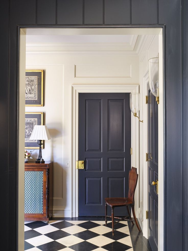 Best 25 brown interior doors ideas on pinterest brown - Pre painted white interior doors ...