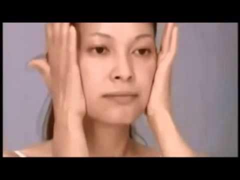 Японский массаж лица самомассаж youtube original - YouTube