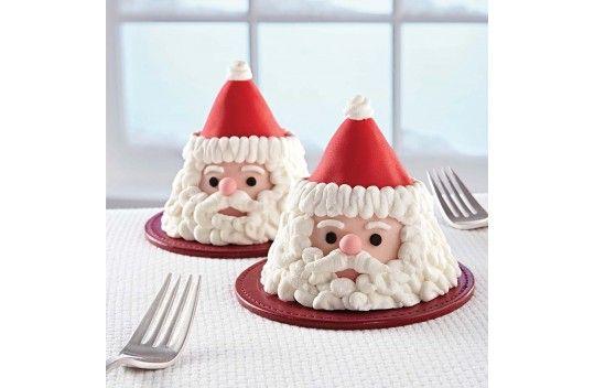 Santa Mini Cakes