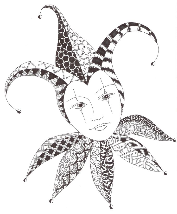 Zentangle made by Mariska den Boer 101
