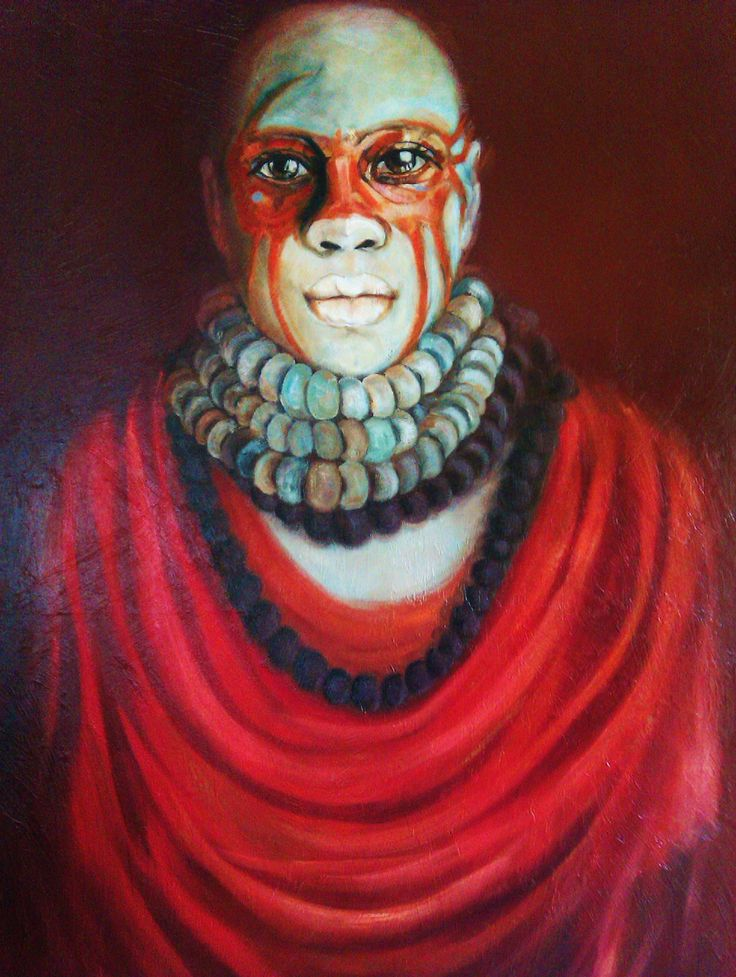 Barbara Becker Art Culture Oil on canvas 90cm x 120cm