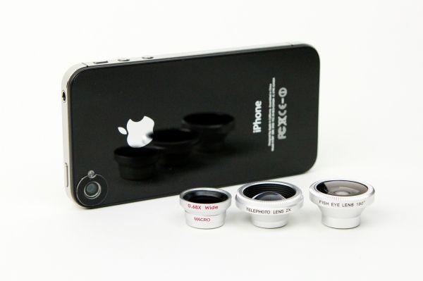pro lenses for iphone.  Genius.