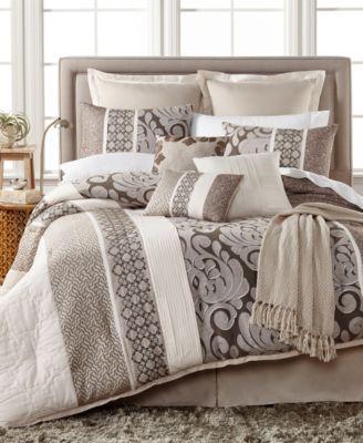 Leighton 10-Pc. California King Comforter Set | macys.com