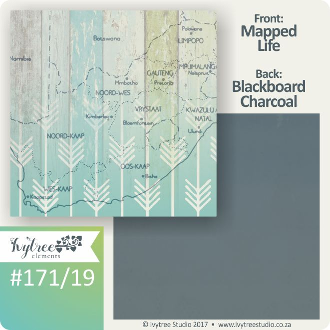 171 Seize the Day Collection - Ivytree Studio - textured backgrounds. A map of South Africa www.ivytree.eshop.co.za