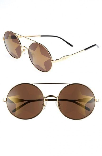 2014 Yaz için En Şık Güneş Gözlükleri - Wildfox 'Starstruck' 56mm Metal Sunglasses, $219.00