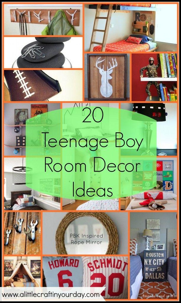 20 Teenage Boy Room Decor Ideas