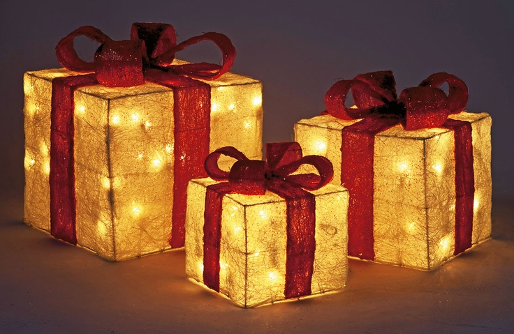 Let the festivities commence with these eyecatching set of three light up gift boxes. The perfect decoration for your home this Christmas from #Argos.