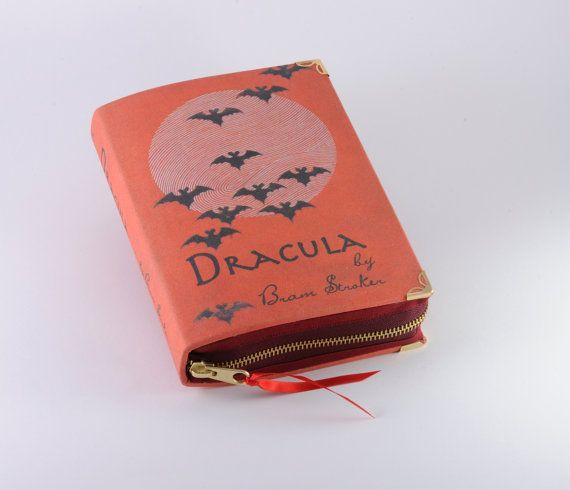 Dracula Book Clutch