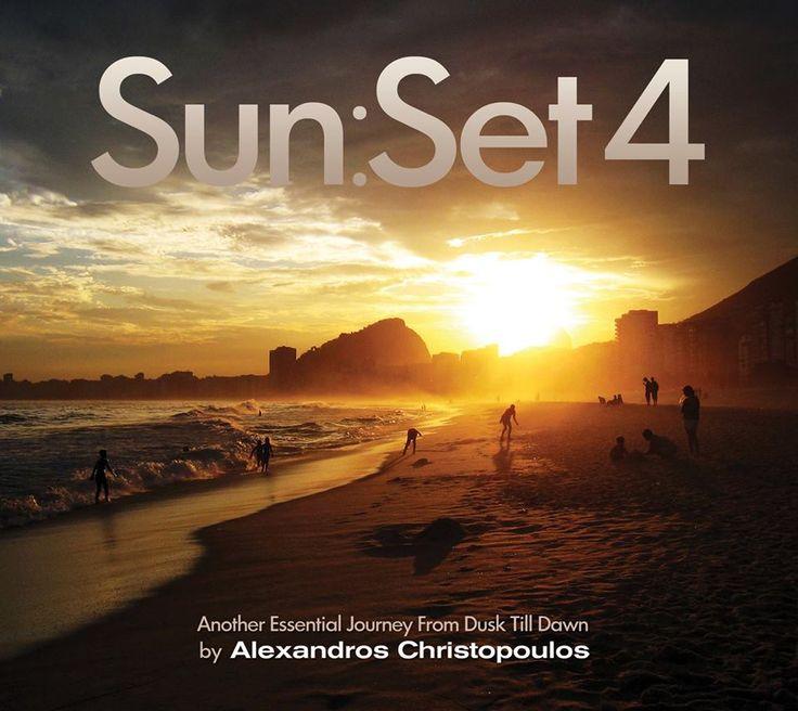 ★ Sun:Set 4 ★ Coming Soon…  Ένα μοναδικό soundtrack αφιερωμένο στις δύο πιο όμορφες στιγμές ανάμεσα στη μέρα και την νύχτα, με 26 chill, balearic, bossa, mellow και deep house επιλογές από τον Αλέξανδρο Χριστόπουλο.