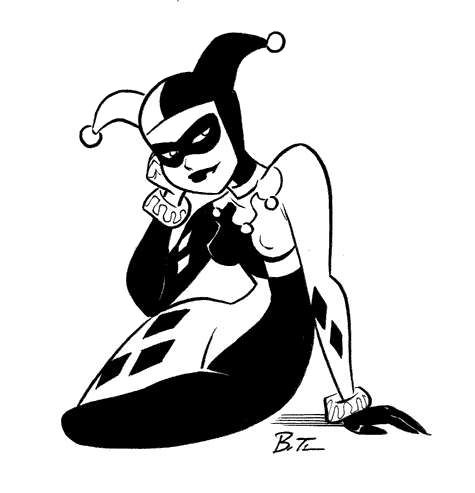 Harley Quinnn by Bruce Timm