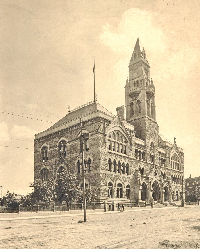 Customs house nashville history pictures