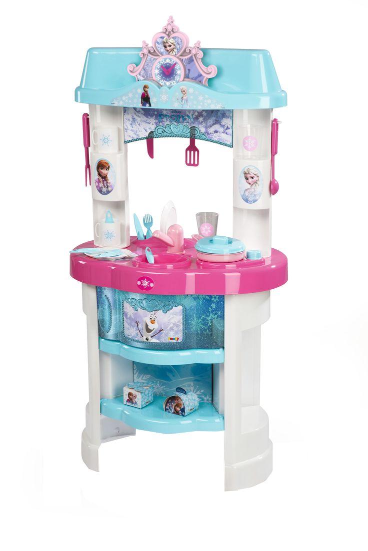 Simba Smoby frozen kitchen  #frozen #disney #simbatoys #happy #kids #toys #kitchen #playtime #kids #parenting