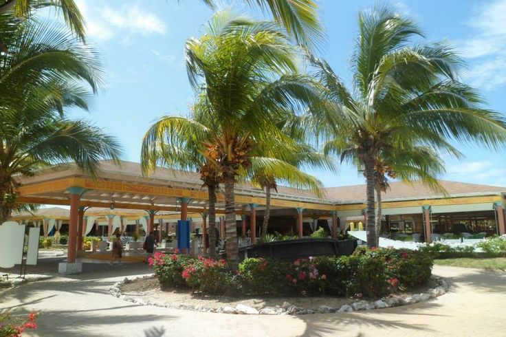 Stunning lobby at Melia Las Dunas resort - Cayo Santa Maria