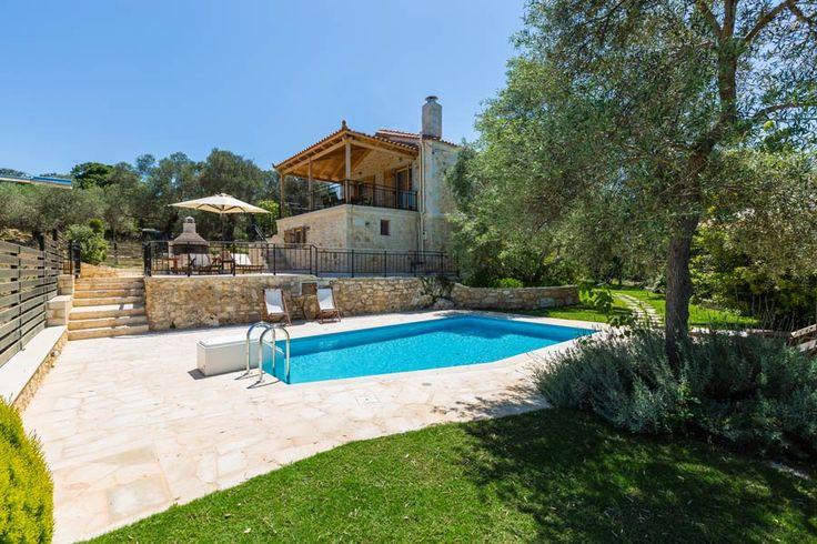 www.villacaneva.gr Villa Caneva in Prines village, Rethymno City, Crete #villa #crete #greece #vacation_rental #holidays #private #summer_in_crete #visit_greece #love_the_view