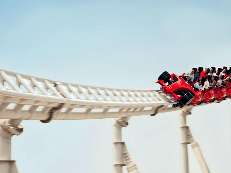 Formula Rossa, Ferrari World (Abu Dhabi, United Arab Emirates) : 101 Amazing Thrills Pictures : TravelChannel.com
