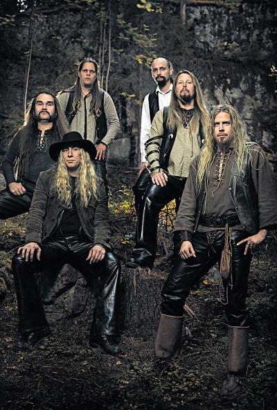 Korpiklaani (Lahti, Finland) saw them live last year, they are awsome!! <3