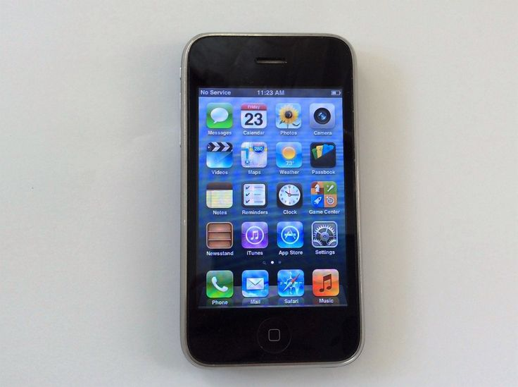 Apple iPhone 3GS - 8GB - Black (AT&T) Smartphone (MC640LL/A) READY TO USE!! | eBay