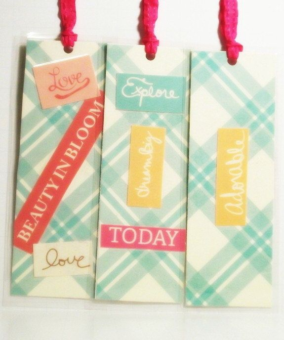 Beauty in Bloom-Set of 3 Large Complimentary Bookmarks to Provide Cheer and Hope.