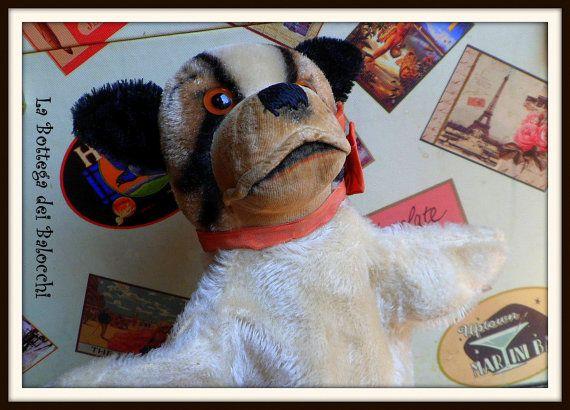 Steiff  Bully il bulldog marionetta di Labottegadeibalocchi